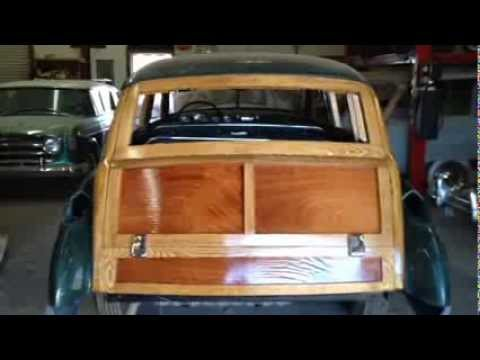1949 Woodie Buick Project February 2014