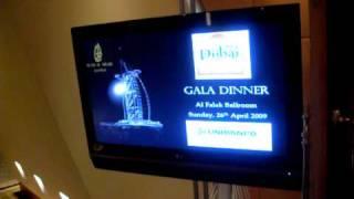 Burj Al Arab Gala Dinner