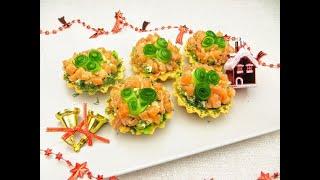 Точно буду готовить на Новый год! Сырные корзиночки для салатов и закусок на праздничный стол!