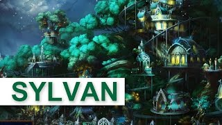 Heroes of Might and Magic 7 - SYLVAN Faction Gameplay [1080p/HD]