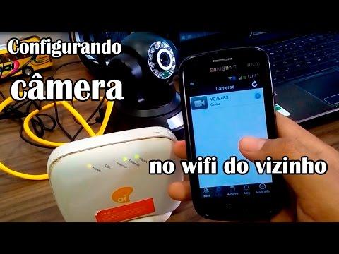 Como Configurar Câmera Ip WIFI do Vizinho ou Amigo - L Gyn