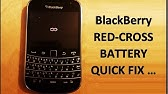 HOW TO FIX BlackBerry 9900 Red light / charging problems