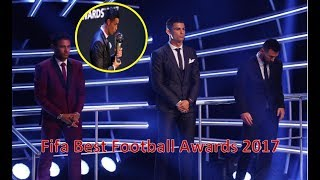 Cristiano Ronaldo FIFA 'The Best Player' of the year 2017