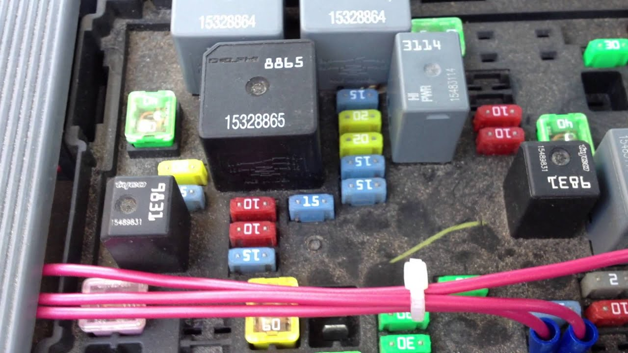 2008 Gmc Fuse Box Manual Of Wiring Diagram Acadia Nbs Silverado Battery Drain Fix Youtube Canyon Location