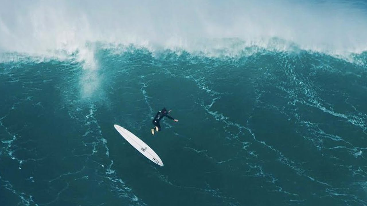 wipeout reel big wave carnage at nazaré youtube