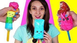 How to make a paper Squishy | DIY Homemade Squishy toy | 3D Ice Cream Squishy