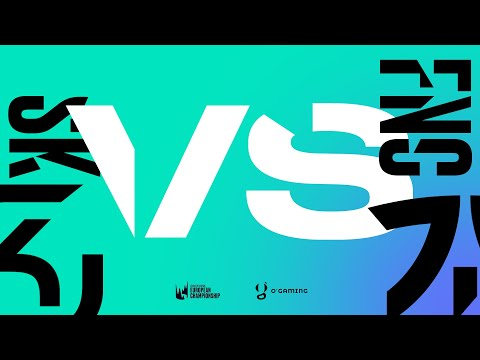 LEC Spring 2020 - SK vs FNC - W7D1