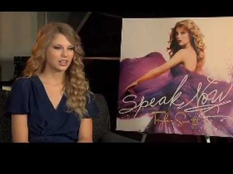Amazon exclusive interview with Taylor Swift - Speak Now