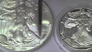 Silver American Eagle HD Porn Happy 2011 Real Money