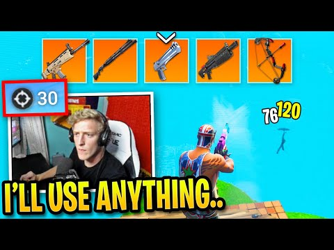 Tfue Shows His Skills with Every Weapon in Fortnite...