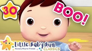Peekaboo! Peek a boo! | +More Kids Songs | Nursery Rhymes | Little Baby Bum