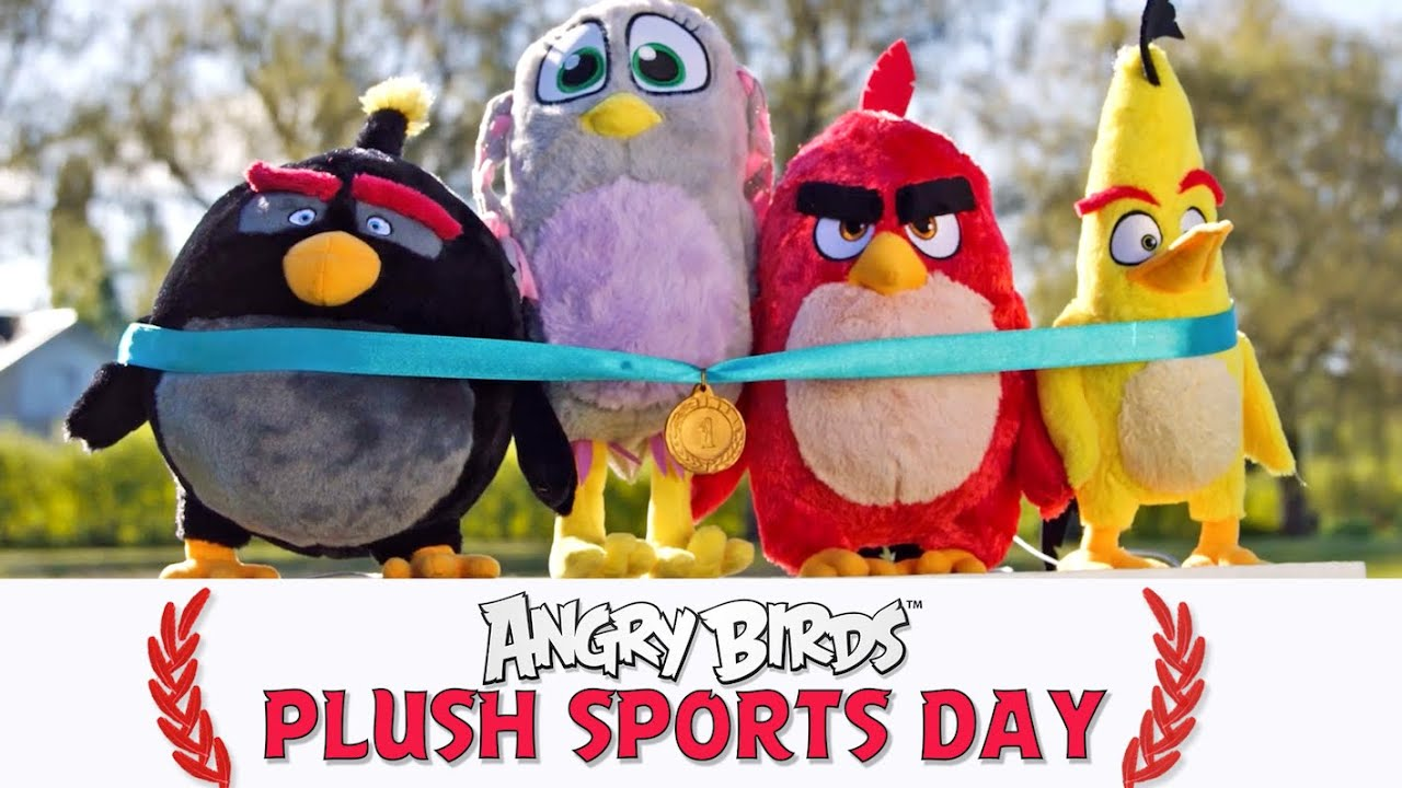 Angry Birds Plush Sports Day – Training for Tokyo!