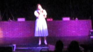 Over The Rainbow from The Wizard of OZ sung by Ashley Wieronski