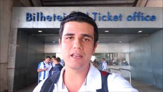 O jornalista César Mayrinck mostra os bastidores de FC Porto 4x0 Estoril