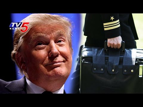 What's There in Donald Trump's Briefcase? | Telugu News | TV5 News
