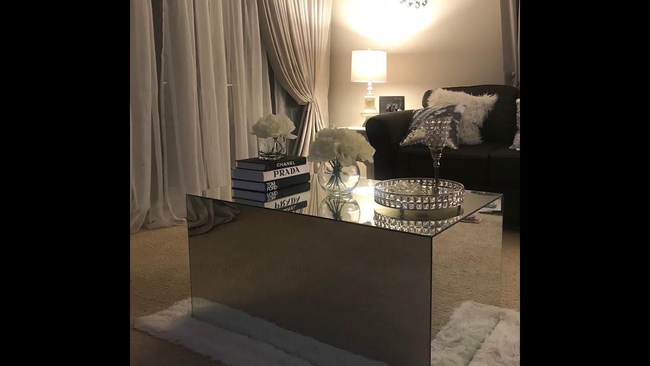 Diy Mirrored Coffee Table Ikea Hack