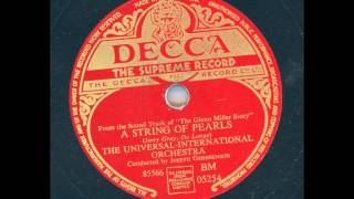 The Universal-International Orchestra - A string of Pearls