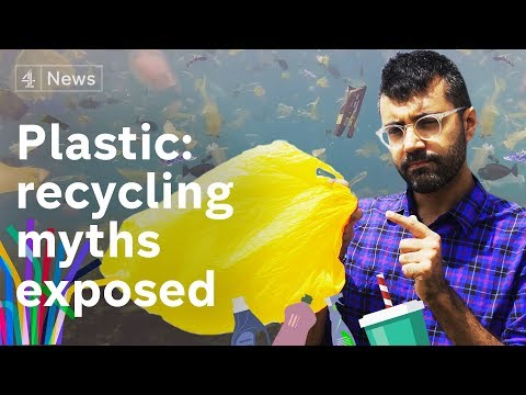 Why the War on Plastic isn't working – recycling myths exposed