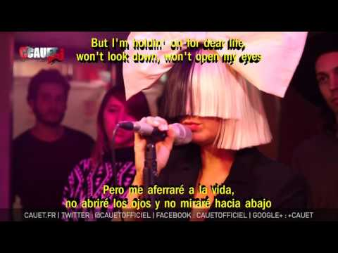 Sia Chandelier Subtitulada en Español Lyrics Live