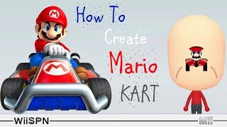 Mii Maker: How To Create Mario Kart!