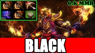 Black^ Dota 2 - Ember Spirit With 3 Battle Fury (21-3)
