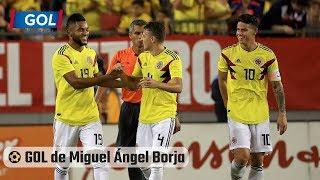 ⚽ Gol de Miguel Ángel Borja Colombia vs Estados Unidos - Partido preparatorio