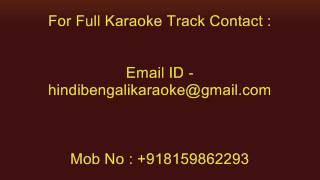 Amay Proshno Kore Neel Dhrubotara - Karaoke - Srikanto Acharya