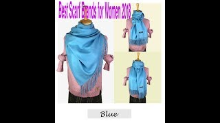 Best Scarf Brands for Women 2018 – Beautiful Scarves Online  - Latest Style Cashmere Scarf Clearance