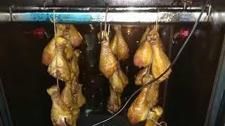 Куриная голень горячего копчения, рецепт и способ приготовления