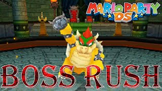 Mario Party DS - Boss Rush (All Boss Minigames, No Damage)