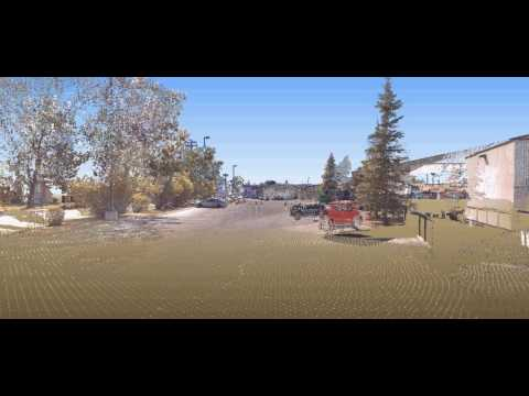 Urban Systems - Brentwood Mall, Calgary fly through  - 3D Laser Scanning