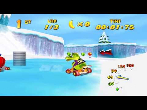 Diddy Kong Racing {Adv. Two} - Silver Coins [Minimal Boosts]