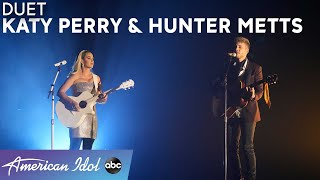 Katy Perry and Hunter Metts Sing Intimate Version of Katy's