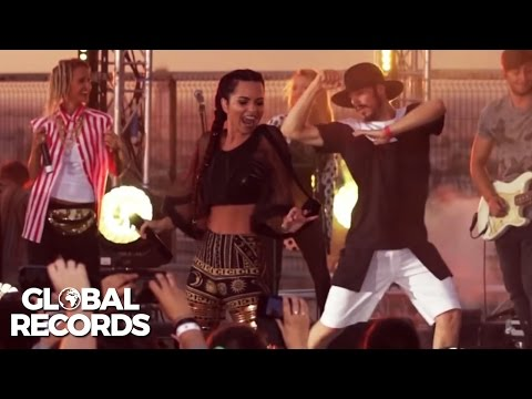 INNA - Cola Song | LIVE @ ProFM ON TOP on the Palace of the Parliament