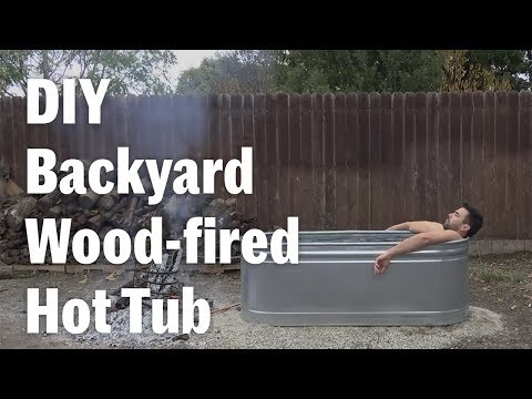 HomeMade Modern's DIY Hot Tub Can Be Your Next Backyard Project