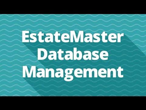 EstateMaster Database Management