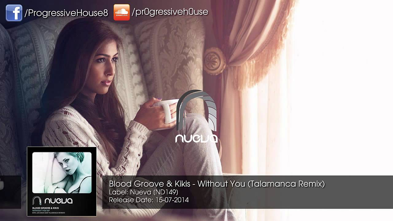 Download Blood Groove & Kikis - Without You (Talamanca Remix)