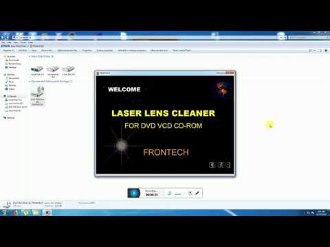 FRON TECH Blu-Ray Disc(R)/CD/DVD/Game Console Lens Cleaner