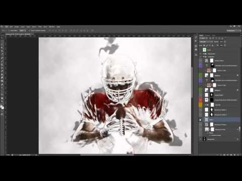 CreativeArt Photoshop Action Tutorial