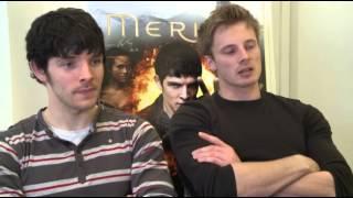 'Merlin' Boys Talk About Their Bromance