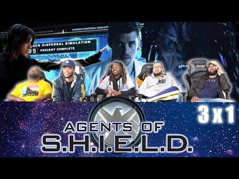 """Agents Of Shield  3 X 1 Reaction! """"Laws Of Nature"""""""