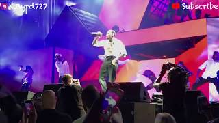 chris brown performance at the 2018 hoafm tour pt 1