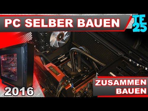 GAMING-PC Selber Bauen Für 2300€ // Gaming-PC 2016 Zusammenbau #2 (German, Deutsch)