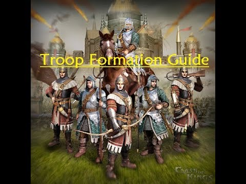 Clash Of Kings - Troop Formation Guide
