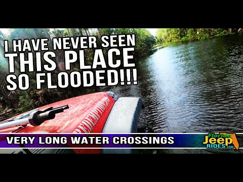 I Have Never Seen This Place So Flooded. A Tosohatchee Jeep Ride