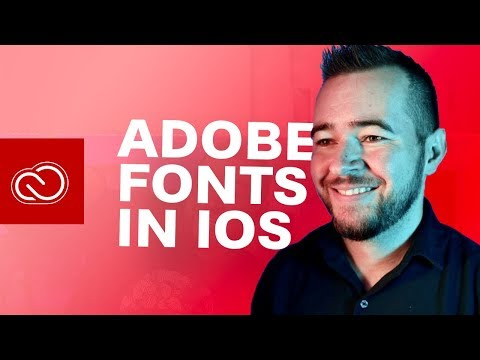 Over 17,000 Fonts On Your IPad Or IPhone With Adobe Fonts!