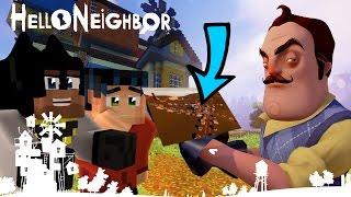 Minecraft Hello Neighbor Alpha 4 House Plans - Neighbor Helping?