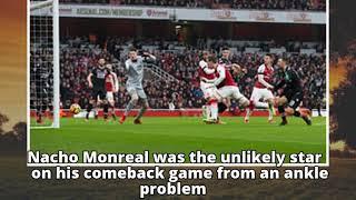 Nacho Monreal ignites quickfire Arsenal to blow away Crystal Palace