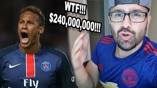 WHAT!!! REACTING TO NEYMAR TO PSG! $240,000,000!