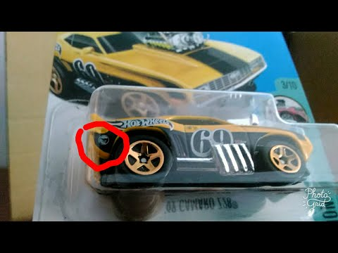 [lagi] UNBOXING HOT WHEELS 2017 LOT/CASE D INDONESIA - TREASURE HUNT REGULER 69 CAMARO Z28